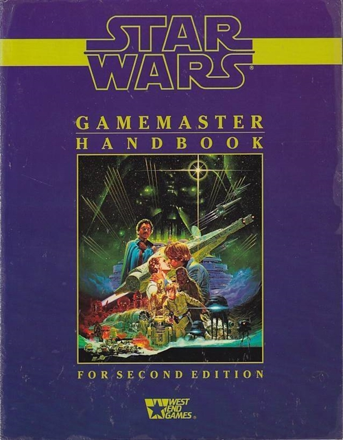 Star Wars D6 - Gamemaster Handbook (Genbrug)